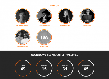 Kroonfestival Rotterdam: Kroonfestival Rotterdam Line-up